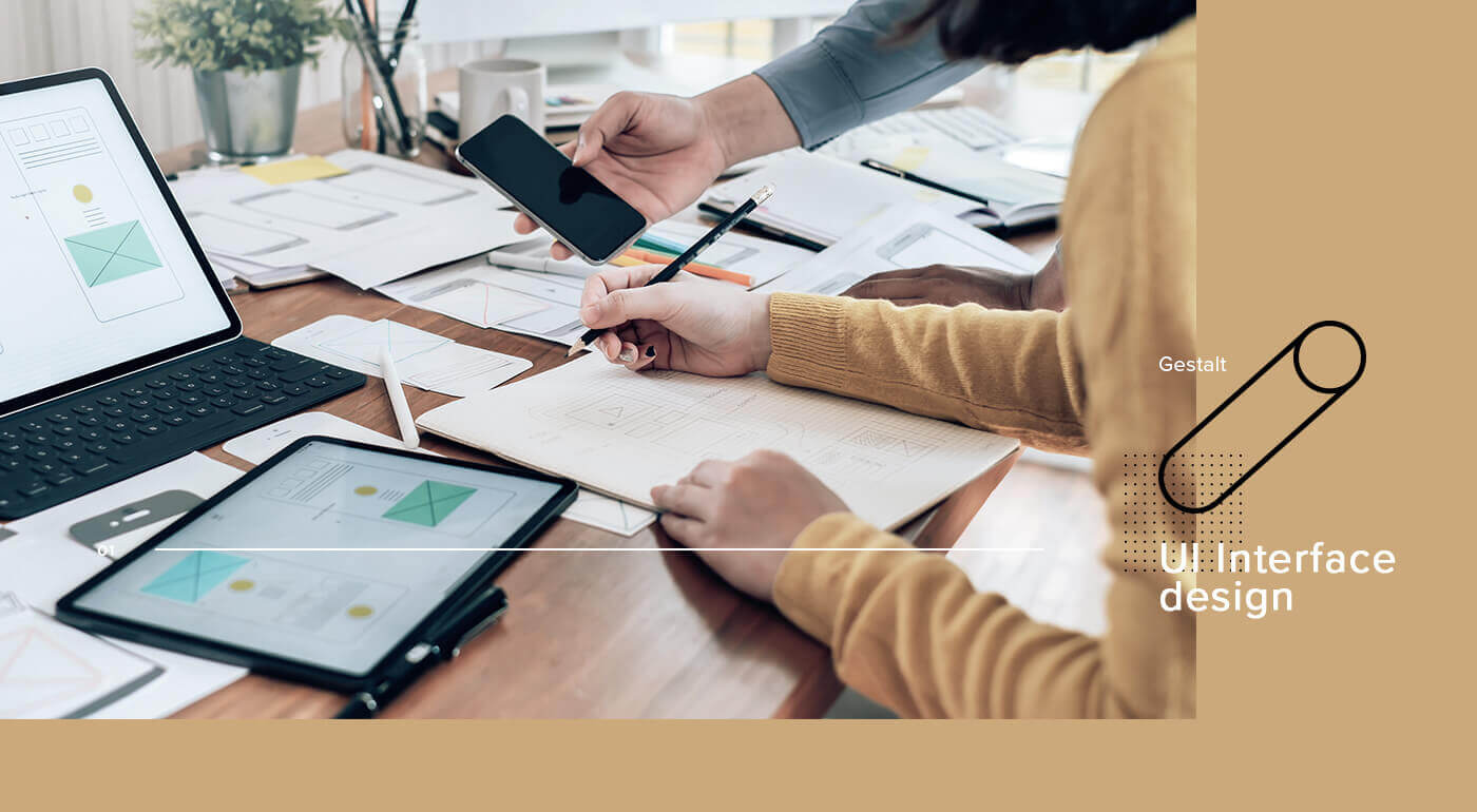 UI介面設計有效的讓使用者釐清版面資訊與元素之間的關係
